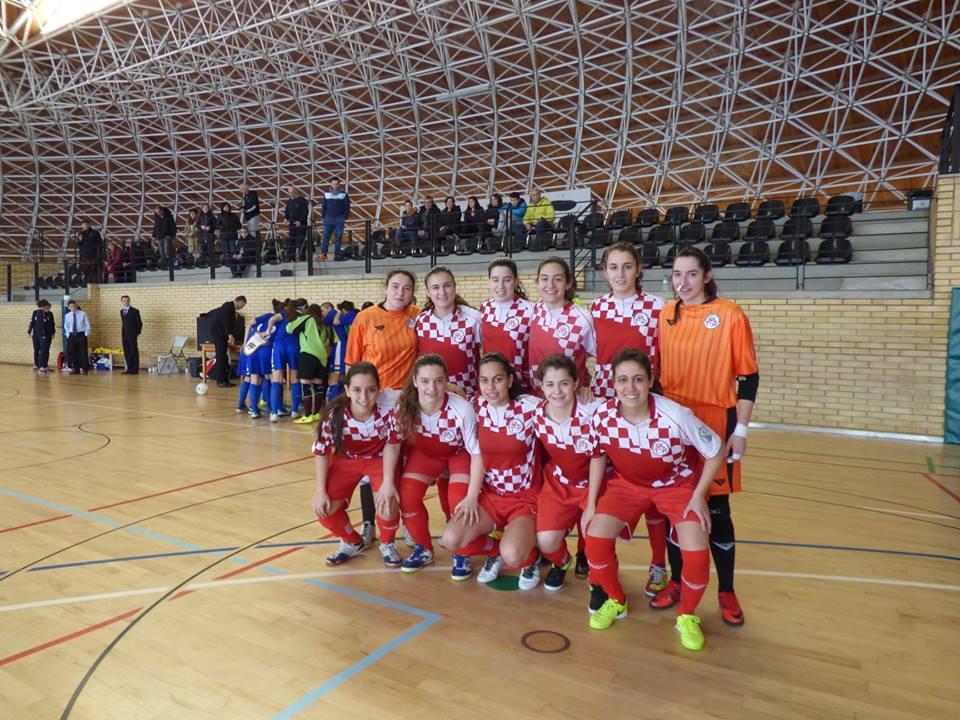 Herenia con la Selección de Castilla y León