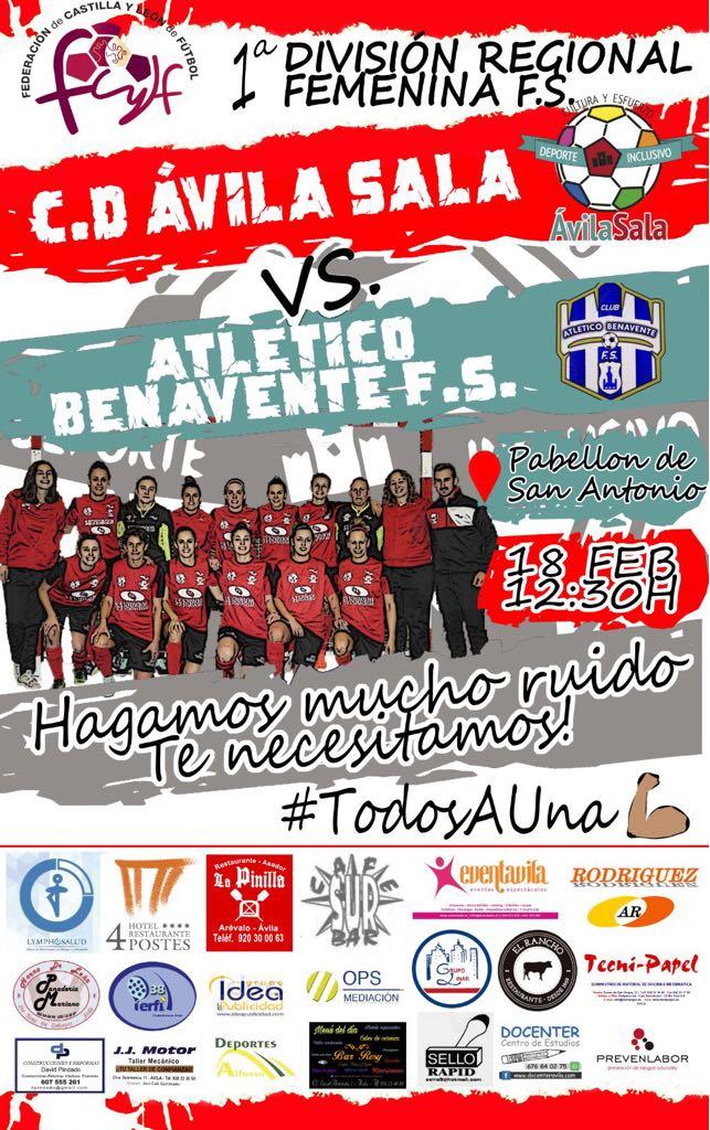 CD.AVILASALA vs ATLETICO BENAVENTE FS
