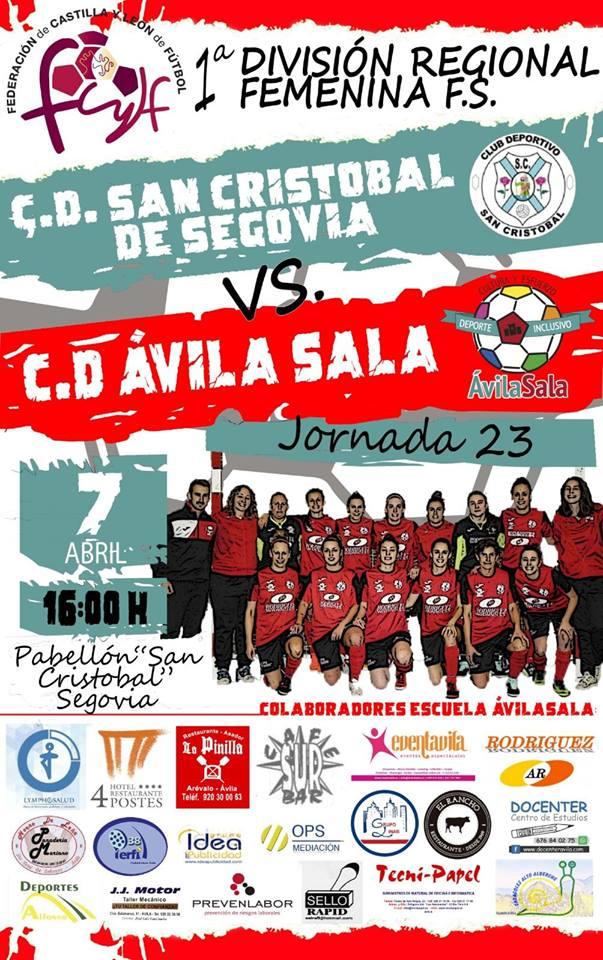 C.D. San Cristobal de Segovia vs C.D. ÁvilaSala